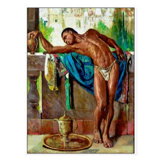 The Slave by Gyula Tornai Postcard