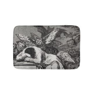 The Sleep of Reason Produces Monsters Bath Mat