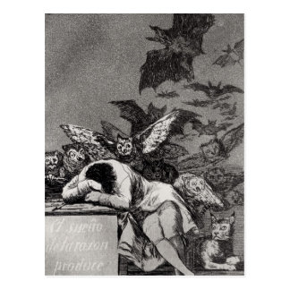 The Sleep of Reason Produces Monsters Postcard