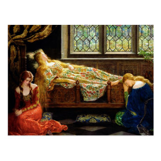 The Sleeping Beauty Postcard