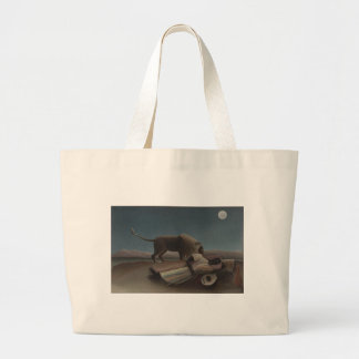 The Sleeping Gypsy by Henri Rousseau Jumbo Tote Bag