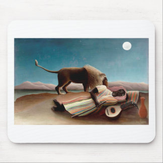 The Sleeping Gypsy Mouse Pad