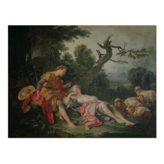 The Sleeping Shepherdess Postcard