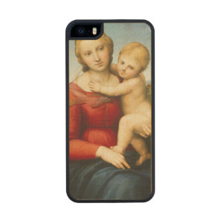 The Small Cowper Madonna, c.1505 (oil on panel) Carved® Maple iPhone 5 Slim Case