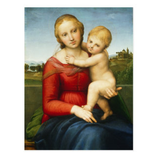 The Small Cowper Madonna, c.1505 (oil on panel) Postcard