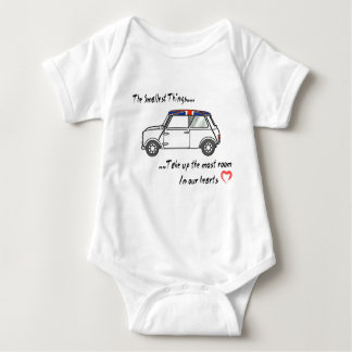 The smallest things baby bodysuit