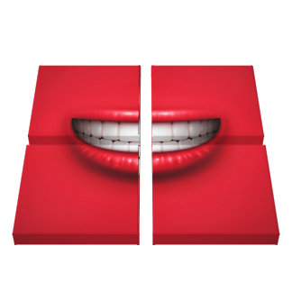 The Smile - Canvas Print - SRF