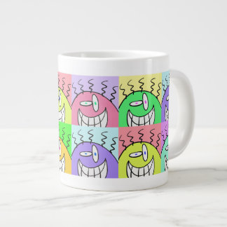 The Smiling Guys Large Coffee Mug