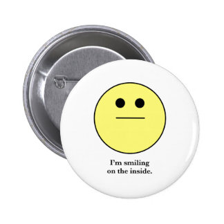 The Smily face for those who are not smiling. 6 Cm Round Badge