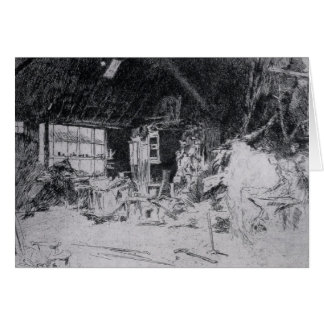 The smithy by James Abbott McNeill Whistler Card