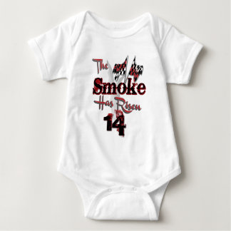 The Smoke Has Risen Baby Bodysuit