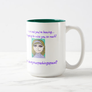The Snooty Sisters Design Two-Tone Mug