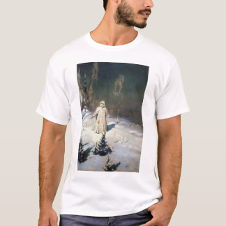 The Snow Maiden Fantasy Art T-Shirt