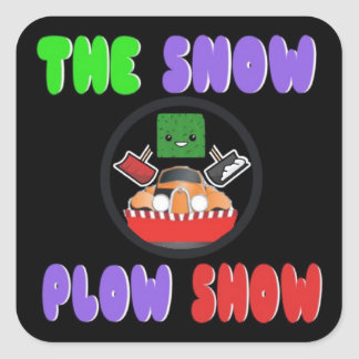 The Snow Plow Show Sticker by Jaahso