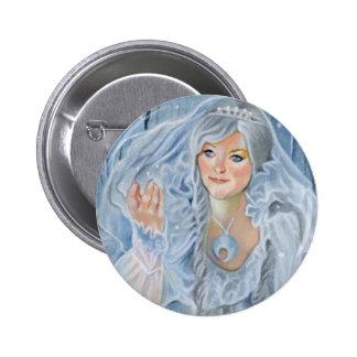 The Snow Queen fantasy Button