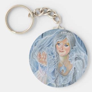The Snow Queen fantasy Keychain
