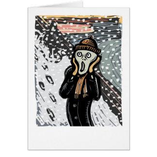 The Snow Scream Card
