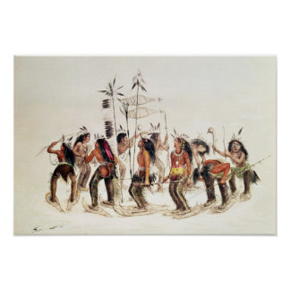 The Snow-Shoe Dance Poster