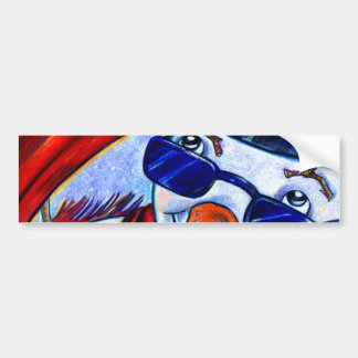 The Snowman Bumper Sticker