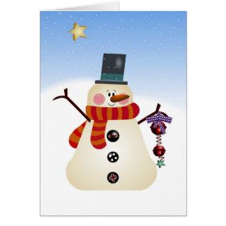 The Snowman Card