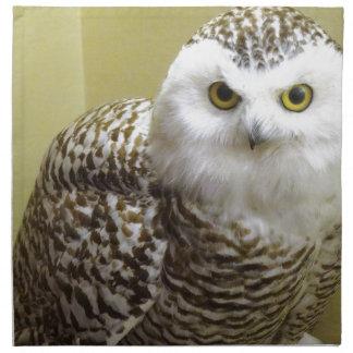 The Snowy Owl Napkin