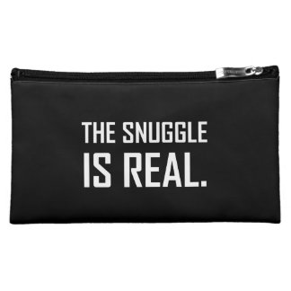 The Snuggle Is Real Makeup Bag