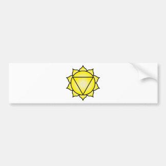 The Solar Plexus Chakra Bumper Stickers