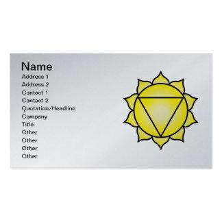 The Solar Plexus Chakra Business Card