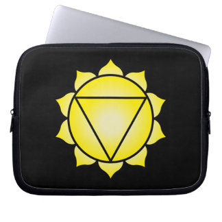 The Solar Plexus Chakra Laptop Sleeve