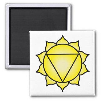 The Solar Plexus Chakra Fridge Magnet