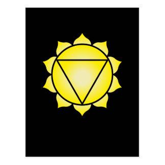 The Solar Plexus Chakra Postcard
