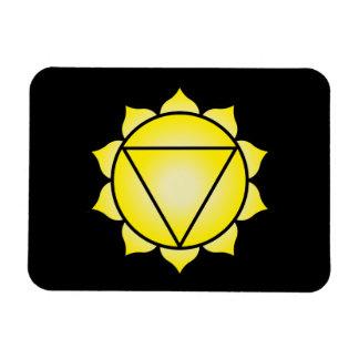 The Solar Plexus Chakra Rectangle Magnet