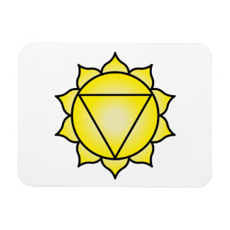 The Solar Plexus Chakra Rectangle Magnets