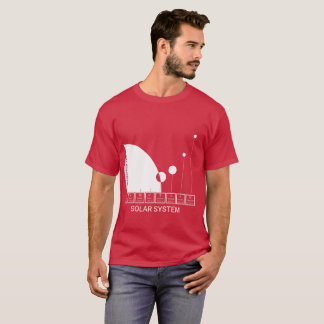 THE SOLAR SYSTEM - abstract model T-Shirt