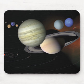 """The Solar System"" mousepad"