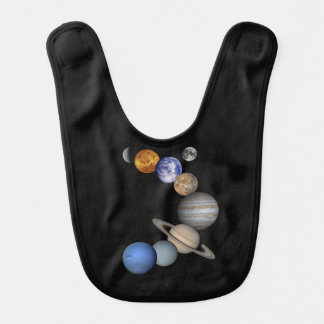 The solar system range our planets bib