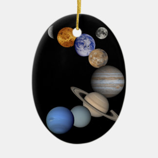 The solar system range our planets ceramic ornament