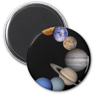 The solar system range our planets magnet
