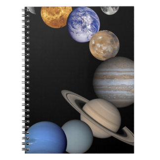 The solar system range our planets notebook