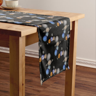 The solar system range our planets short table runner