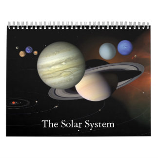 The Solar System Wall Calendar