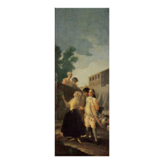 The Soldier and the Young Lady, 1778-79 Poster