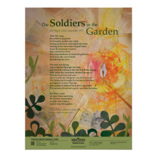 The Soldiers in the Garden Poster