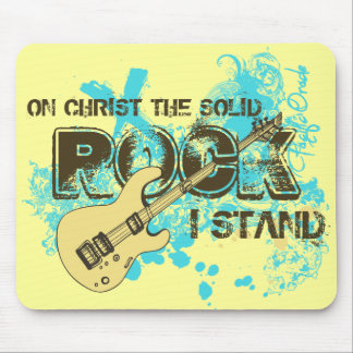 The Solid Rock Mouse Pad
