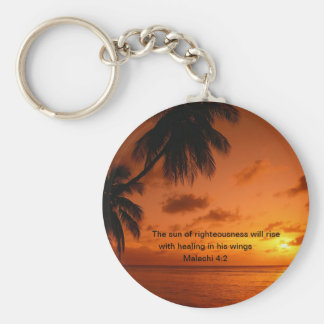 The Son of Righteousness Healing Keychain