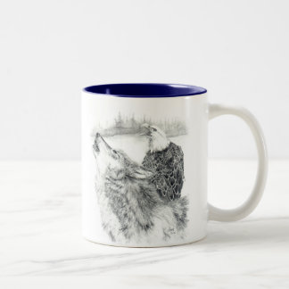 """The Song"" Blue Tone Mug"