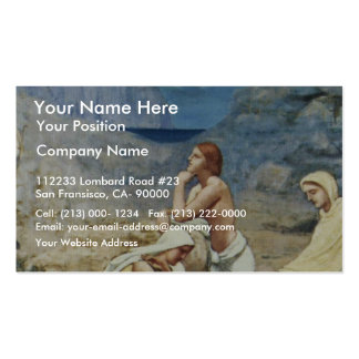 The Song Of The Shepherd By Puvis De Chavannes Pie Business Card Templates