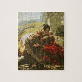 The Sonnet, 1839 (oil on panel) Jigsaw Puzzle