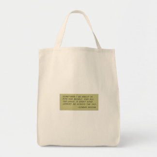 The Sopranos - Ojibwe Saying Grocery Tote
