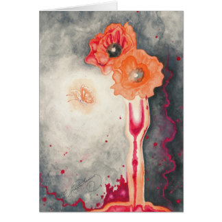 The Sorcerer's Poppies Postcards, Greeting Cards